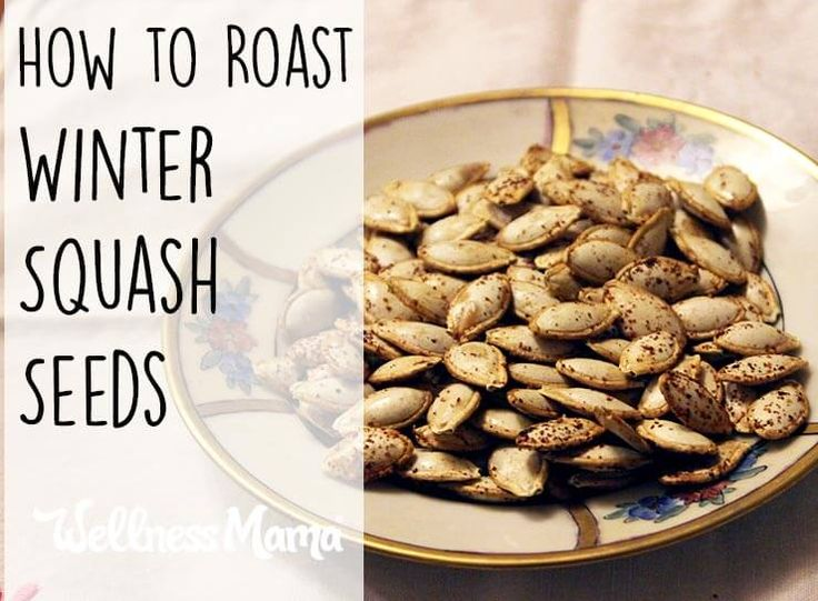 Squash Seeds on Pinterest | Spaghetti Squash Seeds, Roasted Squash ...