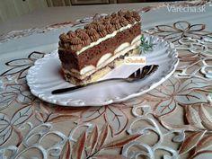 Čokoládové rezy s parížskou šľahačkou (fotorecept) - Recept