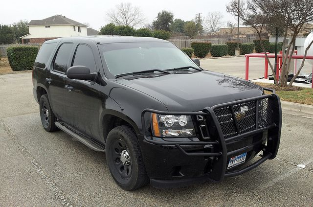 Blacked Out Chevy Tahoe Ultimate Garage Undercover