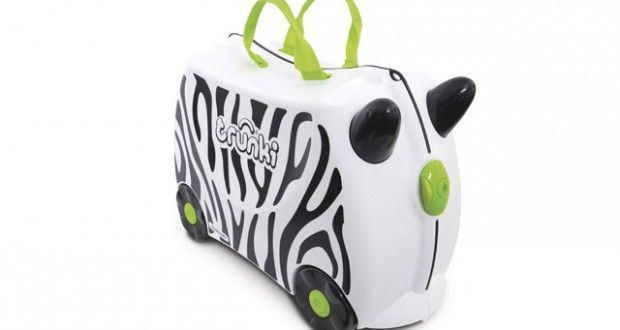 Win a Zimba the Zebra Trunki suitcase!