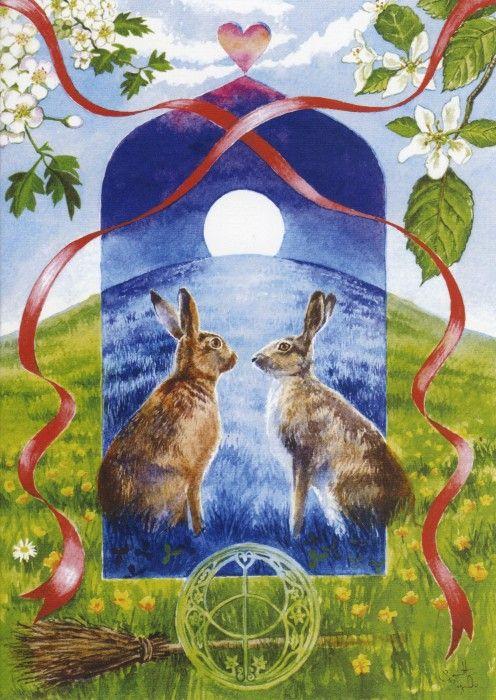 Handfasting Hares ~ Samantha Symonds