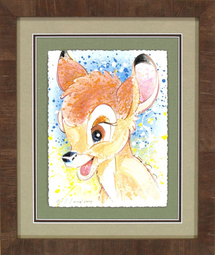 Bambi - Dear Me - Original- David Willardson - World-Wide-Art.com - #davidwillardson #disney