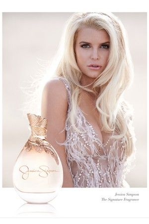 Ad visual for the Jessica Simpson fragrance. [Courtesy Photo]