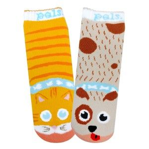 Pals Socks come as unlikely pairs of friends, they're fun reminders that there is so much more to friendship than what we see on the surface. Pals reminds us that the coolest way to be is to be yourself, and despite our differences, we can all be friends. Pals are much more than colorful mismatched socks – they're a way of thinking, of promoting harmony. Kids are our future and we want to help them grow into empathetic human beings… one foot at a time!