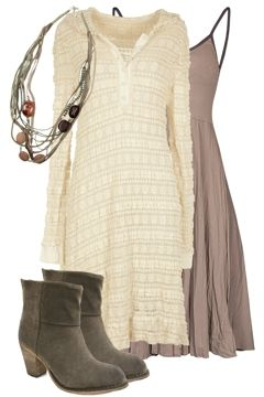 Casual Dress for Cooler Days