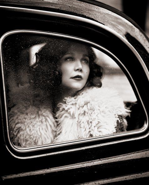 For some reason I love shots of the bride saying goodbye to her guests as she is about to drive off with her husband. This is so pretty. Maggie Gyllenhaal by Vincent Peters