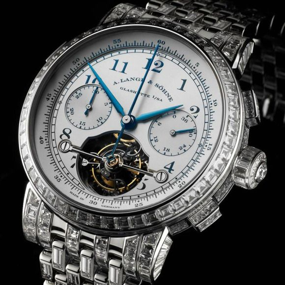 luxury German watch maker A. Lange and Söhne Tourbillon