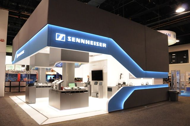 This new booth design is yet another milestone in the audio specialist's premium brand strategy. The design concept, developed by the German design agency Syndicate, was first brought to life two years ago in Sennheiser's point of purchase program that was executed worldwide. Sennheiser is now consolidating the presentation of its brand profile at shows and trade fairs throughout the world.