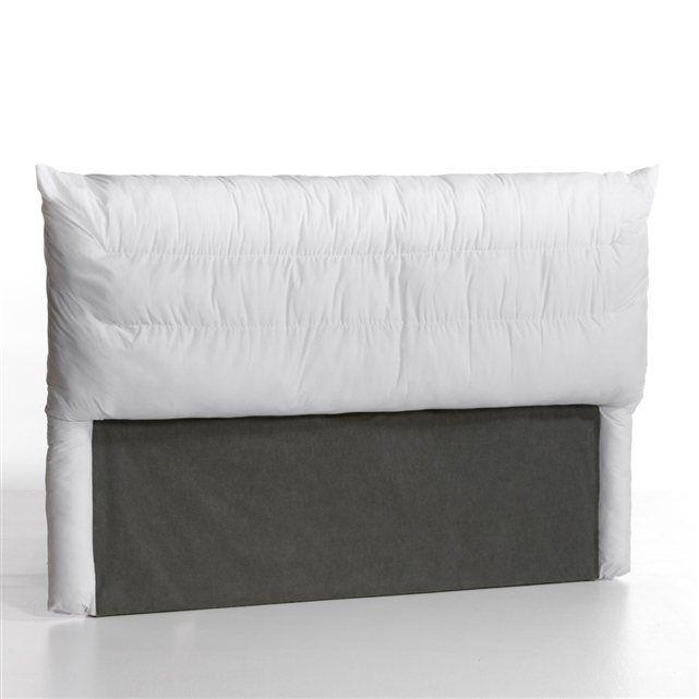 17 meilleures id es propos de t te de lit matelass e sur - Housse de tete de lit en lin ...