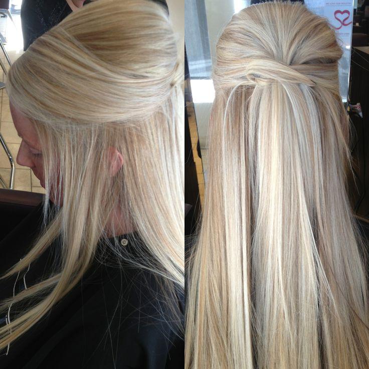 Best 25 Wedding Hair Up Ideas On Pinterest: 25+ Best Ideas About Straight Wedding Hair On Pinterest