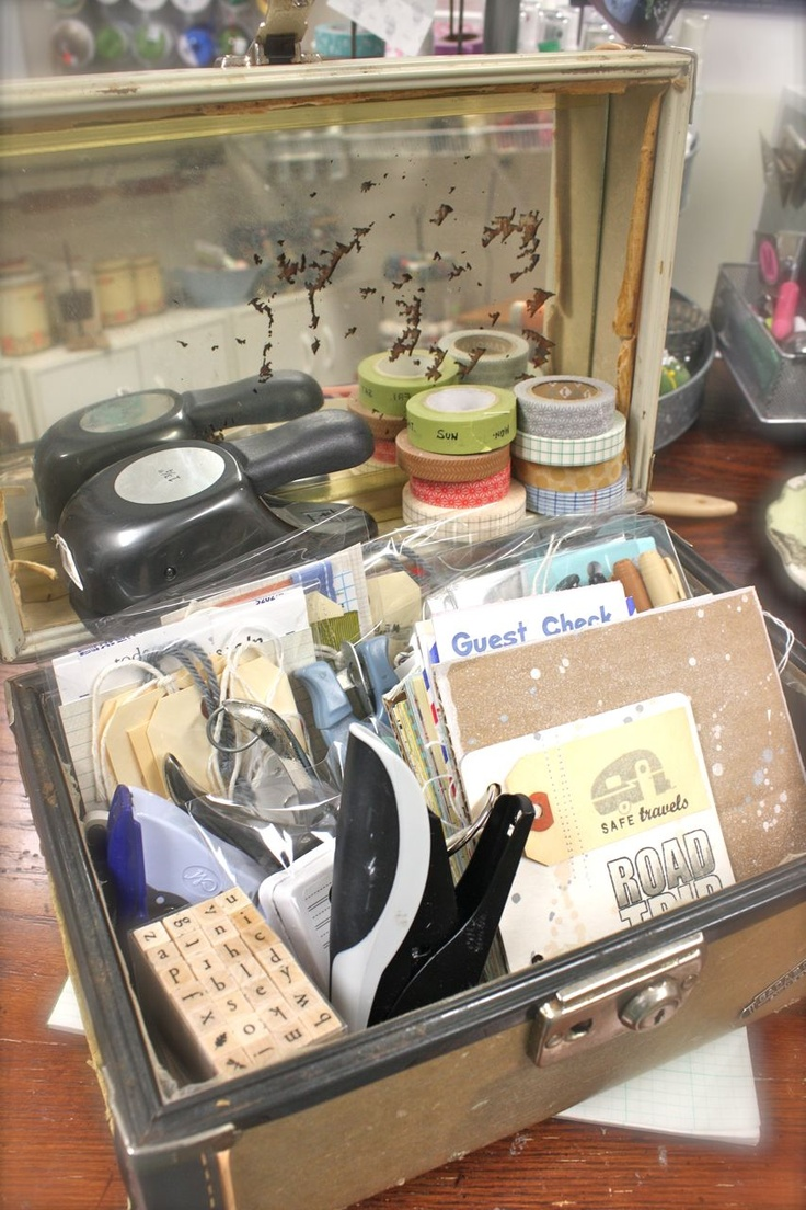 213 best Alter/Repurpose: Train Case/Suitcase images on Pinterest ...