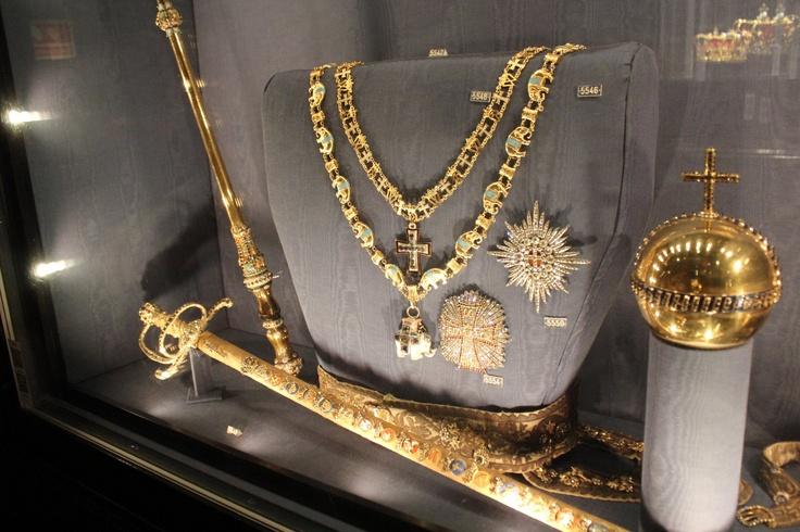 Danish Kings sword and scepter!
