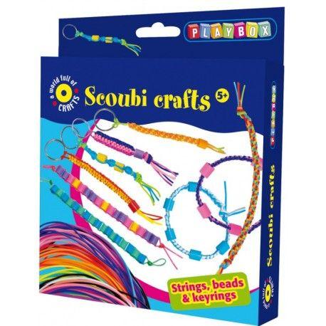 Gioco creativo giocattolo set kit per bambini bijoux con gli scoubidou