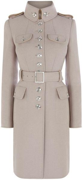 KAREN MILLEN ENGLAND Ultimate Military Coat