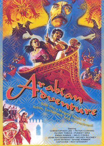 Arabian Adventure [DVD] [1979]  Hammer horror films, Adventure, Classic movies