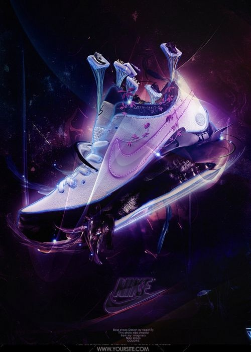Nike Air Poster. Futuristic Style. We Have Liftoff.