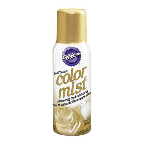Gold Color Mist Food Color Spray