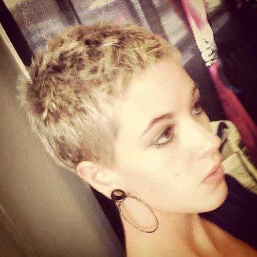 Buzz Cut Pixie Hair