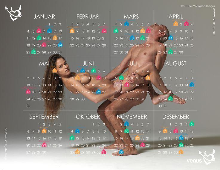 Venus ønsker å sette fokus på romantisk, søtt og sexy. Derfor laget vi en egen kalender, #VenusKalender2015, med offisielle dager hvor disse elementene er prioritert. Sjekk kalenderen, last den ned, skriv den ut. Den vil både pryde veggen og holde deg oppdatert på noen av årets viktigste datoer.  Del vår kalender på Pinterest, Facebook, Twitter osv. Gi en i gave til din kjære slik at HAN (eller hun) kan overraske deg på disse spesielle dagene!  #Venus #Kalender #2015 #Sexy #Erotisk…