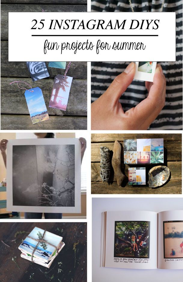 25 fun Instagram projects for summer!!
