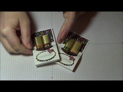 Tutorial Merci Verpackung mit Produkten von Stampin' Up!