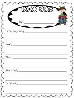 Classroom Freebies Too: Summarizing Poster with Student Sheet