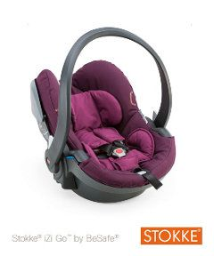 Stokke® BeSafe iZi-Go X1 BeSafe® Baby Car Seat - Purple. Birth to 13kg. http://www.parentideal.co.uk/mothercare---car-seat.html