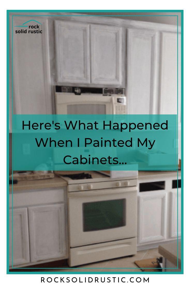 Complete Kitchen Transformation In 2020 Builder Grade Kitchen Repainting Kitchen Cabinets Kitchen Transformation