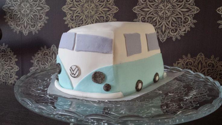 VW bus (Taart)