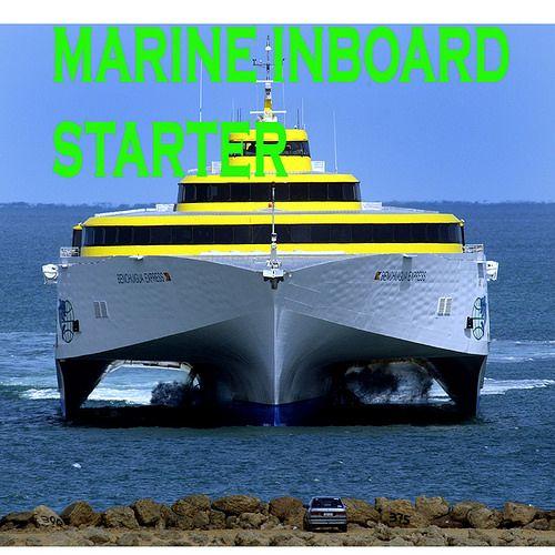 Marine Inboard Stater