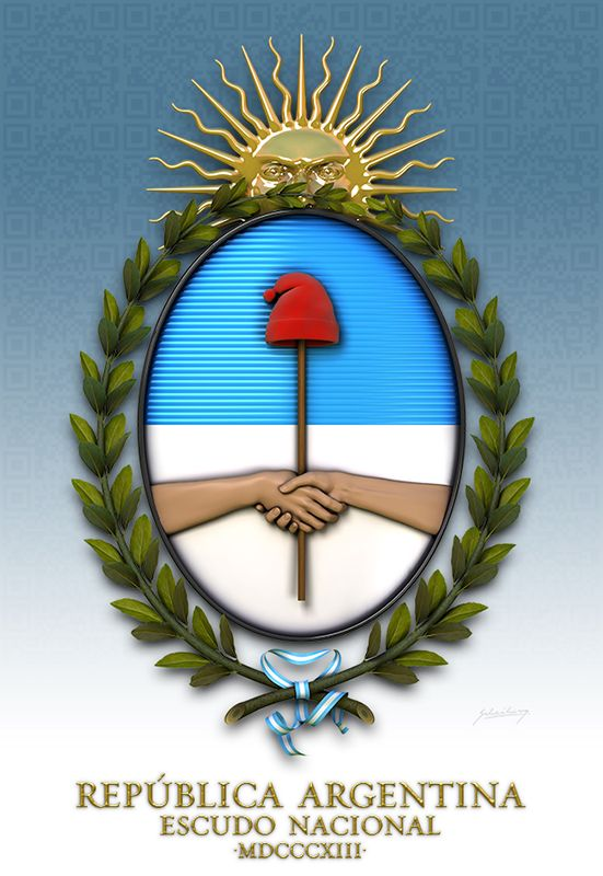 Escudo Nacional Argentino -