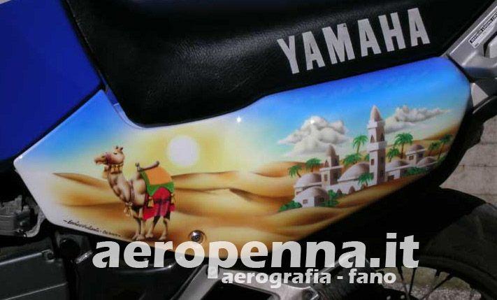 aerografia su yamaha