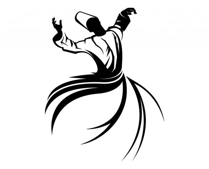 Islamic mysticism. Whirling dervish.