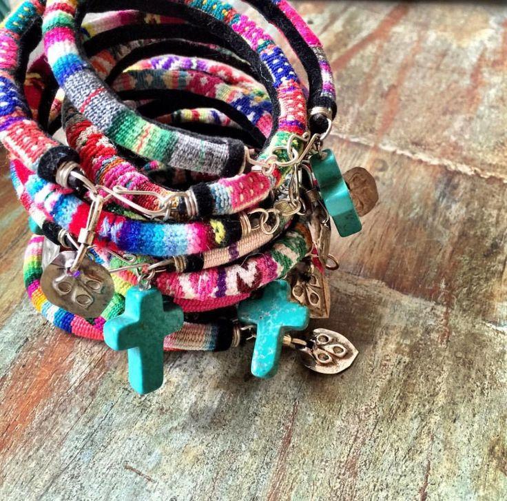 Peruvian woven bracelets NEW