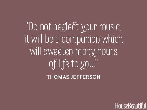 Thomas Jefferson Music Quote - Thomas Jefferson Famous Quotes ...
