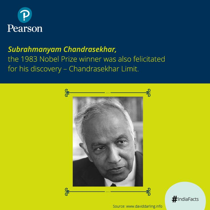 Subrahmanyam Chandrasekhar was one of the greatest ‪#‎physicists‬ of the 20th century. He was awarded with the 1983 ‪#‎NobelPrize‬ for ‪#‎Physics‬. His prolific contribution in the fields of astrophysics, physics and applied ‪#‎mathematics‬, won him the stature of a great scientist and an accomplished teacher.
