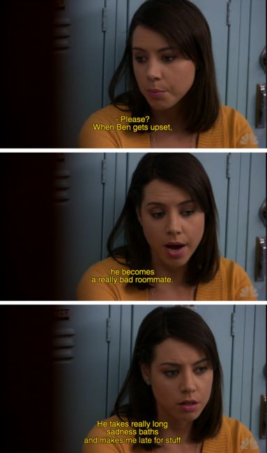 I love April from Parks and Recreation.