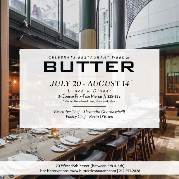Butter Midtown, Alex G from chopped. Gotta try this place out