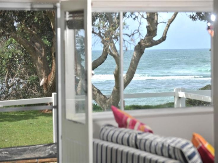 The view from my little beach shack. A girl can dream you know!