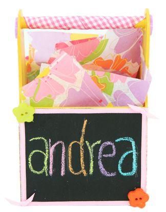 Caja con pintura para pizarrón/ Regalo / Dulcero / fiestas infantiles
