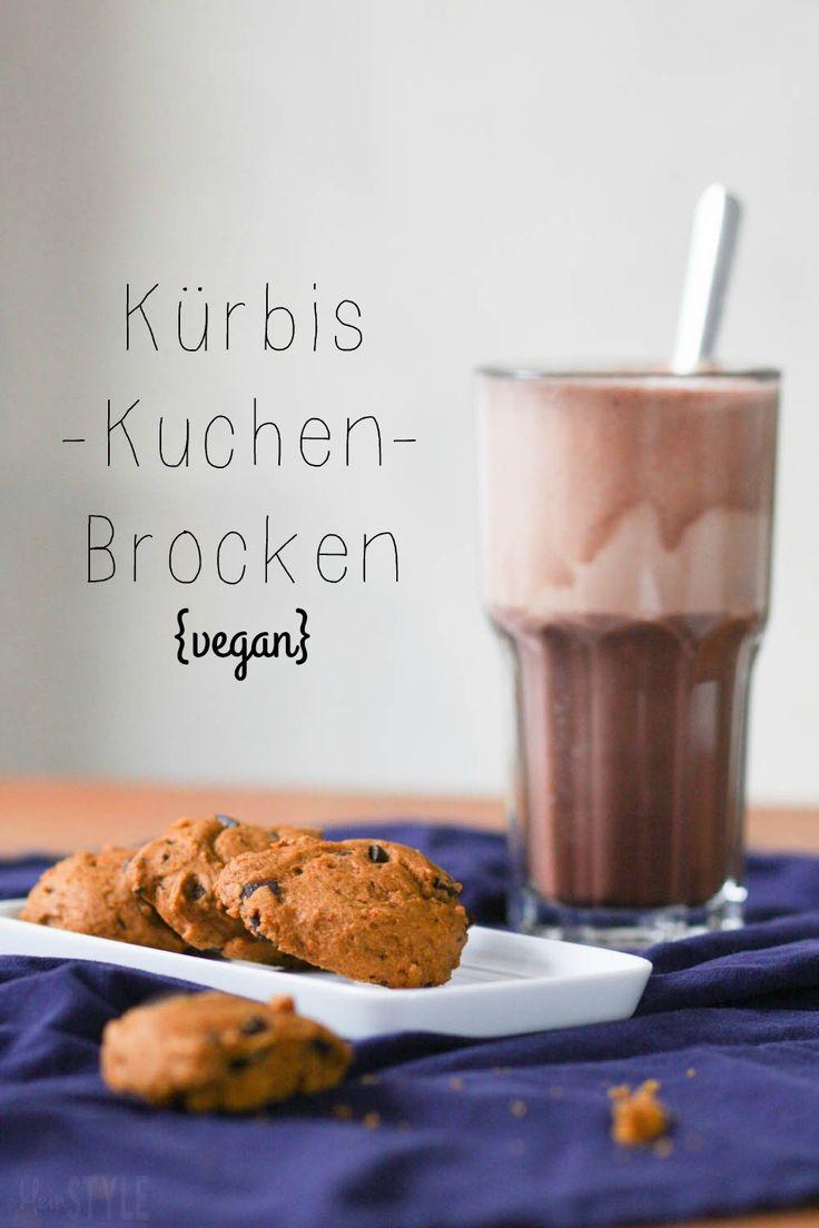 vegan pumpkin cake chunks | Food Love Friday : Kinder gebilligte Kürbis-Kuchen-Brocken {natürlich vegan} | via http://kleinstyle.com