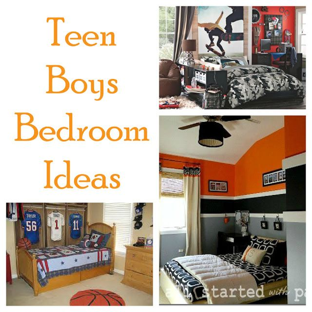 Second Chance To Dream: Teen Boy Bedroom Ideas.