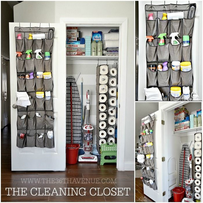Cleaning Tips - Cleaning Closet Organization at the36thavenue.com