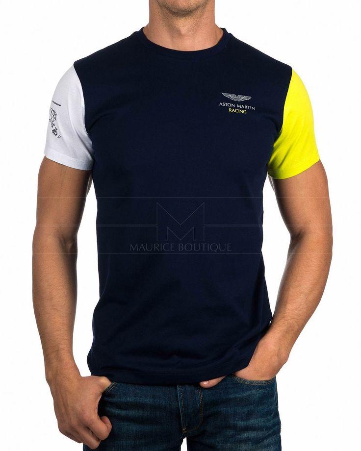 Camisetas Hackett Aston Martin - Azul Marino Multi Tee