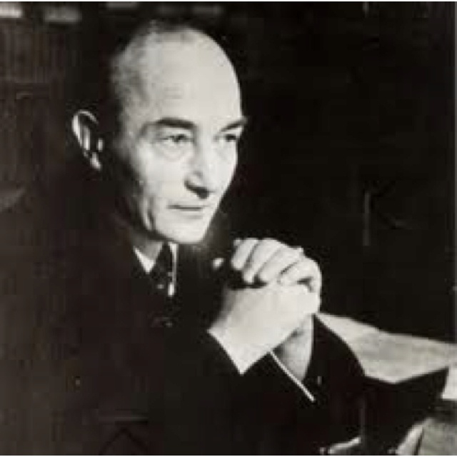 Robert Musil (November 6, 1880 - April 15, 1942) Austrian writer.
