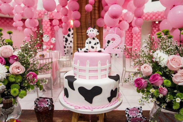 Cotidiano Materno: Tema de Festa - Fazendinha Cor de Rosa