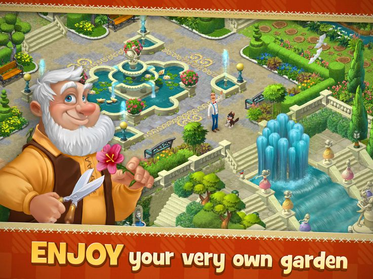 Gardenscapes Free Play - fun match three game!
