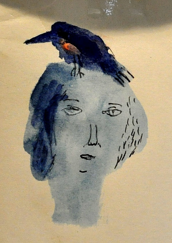 Claire Loder - watercolor sketches