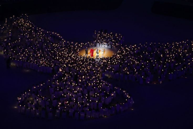 Winter Olympic Games PyeongChang 2018 opening ceremony