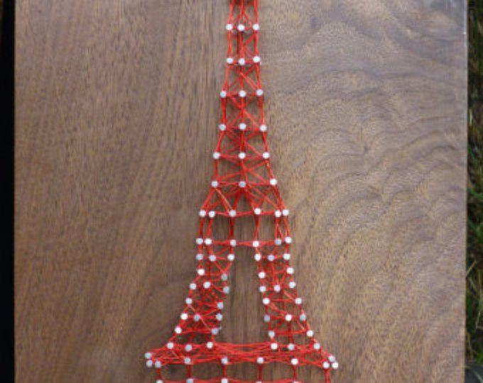 Torre Eiffel cadena arte